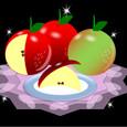 りんごとレース